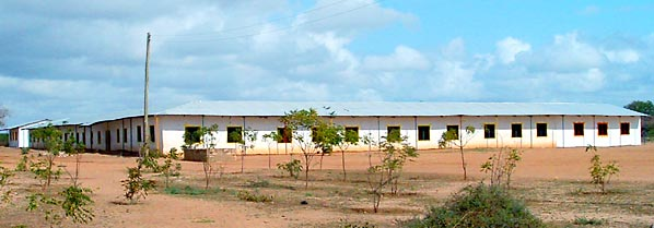 New painted school